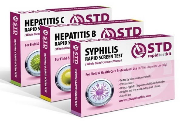At Home STD Test Syphilis and more