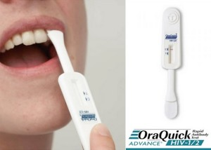 HIV At Home Test mouth swab