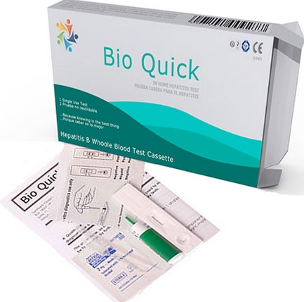 Hepatitis B test kit