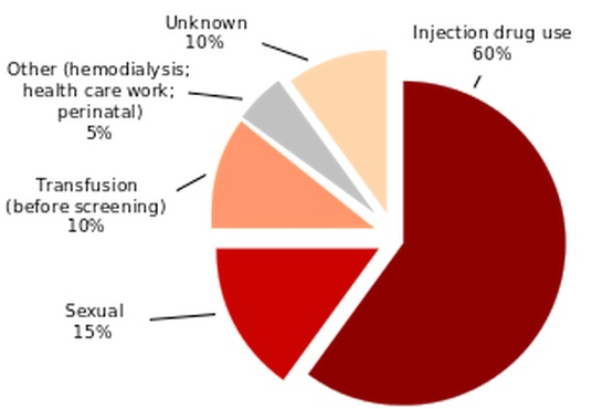 Hepatitis C Transmission by Source