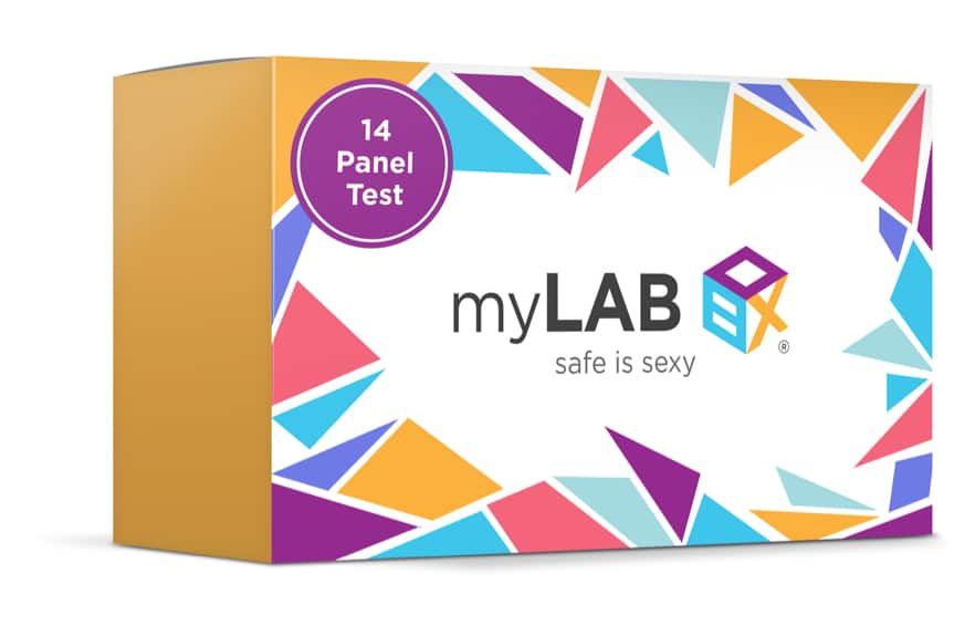 Full Panel STD test by myLabBox