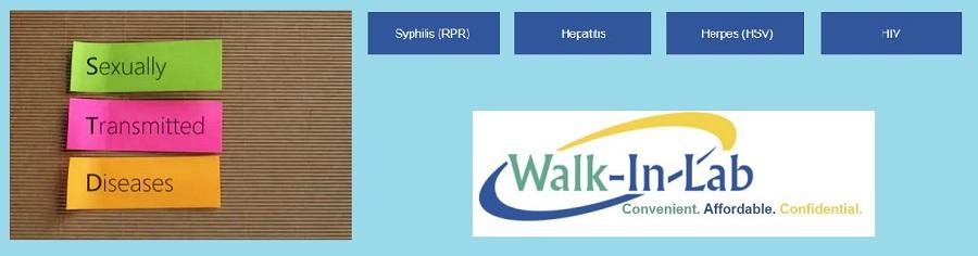 Walk-In Lab STD Test